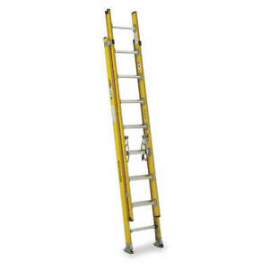 Werner Extension Ladder fiberglass 16 Ft iaa D7116 2