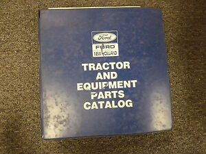 Ford New Holland 5610 5900 6610 6710 7610 7710 Tractor Parts Catalog Manual