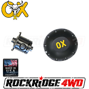 Ox Locker Gm 10 Bolt 8 5 2 73 And Up 28 Spline W Hd Differential Cover