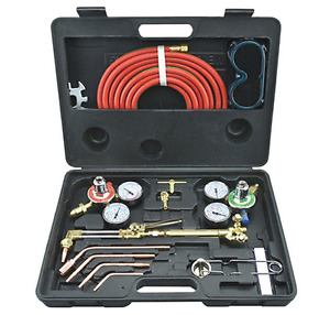 New Gas Welding Cutting Kit Portable Acetylene Oxygen Torch Set Welder Regulator