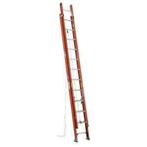 Werner Extension Ladder fiberglass 24 Ft ia D6224 2