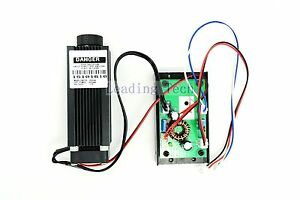 12v 808nm Dot Infrared Diode Laser Module Adjustable 1 6w With Driver Outnew