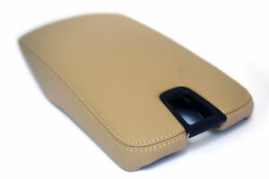 Lexus Es350 Center Console Armrest Synthetic Leather Cover Beige For 2007 2009