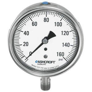 Ashcroft Gauge pressure 0 To 1500 Psi 1 4 In Npt 351009sw02l1500