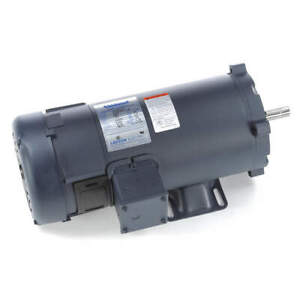 Leeson Dc Permanent Magnet Motor 7 5a 1 1 2 Hp 108265 00