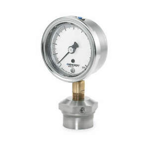 Ashcroft Pressure Gauge 0 To 60 Psi 2 1 2in 1 4in 251009aw02l 310sslxcg60