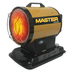 Master Oil Fired Radiant Heater 70k Mh 70 ss