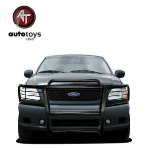Grill Brush Guard Push Bar Black For 99 03 Ford F 150 2wd 99 02 Expedition 2wd