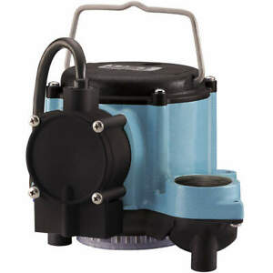 Little Giant Submersible Sump Pump 1 3 Hp 1 1 2 In 6 cia ml