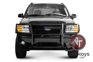 Atu Fits 02 05 Ford Explorer Grille Brush Guard Push Bar Bumper Protect Light