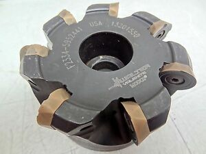 Walter F2334 5952441 Indexable Face Mill Milling Cutter 3 4 Arbor 13201550