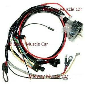 Engine Wiring Harness 68 Chevy Corvette 427 327 350 396 Stingray 1968