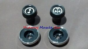 New Inner Outer Radio Knobs 71 79 Chevy Chevelle Camaro Ii Corvette Nova