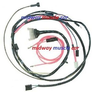 Engine Wiring Harness 63 Chevy Impala Bel Air Biscayne Ss 409 W Hei