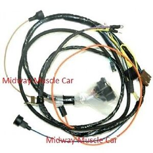 Engine Wiring Harness 68 Chevy Camaro Ss W Lights 302 307 327 350