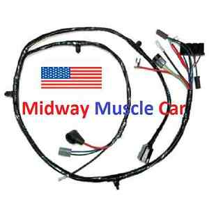 Front End Wiring Harness Chevy Pickup Truck Suburban 63 66