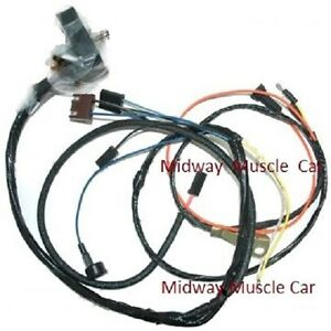 Engine Wiring Harness 69 Chevy Camaro W Lights 350 302 327 Ss Rs Ss Z 28