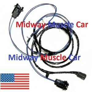 Front Parking Turn Signal Light Wiring Harness Chevy Pickup Truck Suburban 63 66