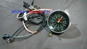 66 67 Chevy Chevelle Malibu El Camino Console Clock Harness New Quartz