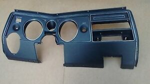1969 69 Chevy Chevelle Dash Instrument Cluster Panel Bezel Assembly Without A C
