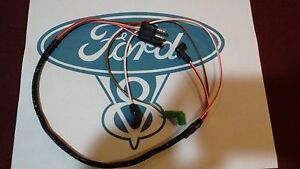 67 68 Ford Mustang V8 Engine Gauge Feed Wiring Harness 289 302 W O Tach W O A C