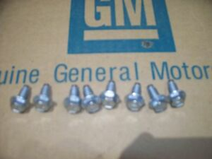 69 70 Nos Valve Cover Bolts Ram Air 4 Iv Ho Sd 9784378 Nl Stamp Gto Judge T A