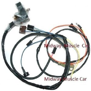 Engine Wiring Harness 68 Chevy Camaro Ss 302 327 350 W Lights Rs ss Copo Z 28