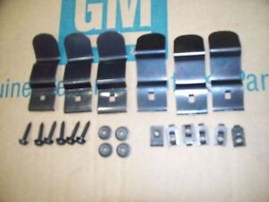69 Chevy Camaro Dash Pad Mounting Installation Kit Set Clips Screws 22 Pc