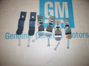 Nos 70 71 72 Chevy Chevelle El Camino Dash Pad Mounting Kit Clips