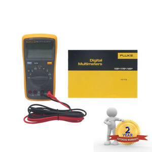 Fluke 15b F15b Digital Multimeter Meter Auto Range Ac Dc Voltage Current Us
