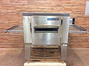2008 Lincoln 1452 000 u Electric 1400 Series Impinger Conveyor Pizza Oven