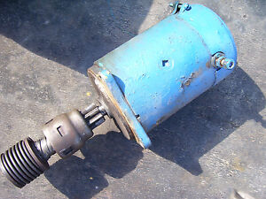 Vintage Ford 4000 Gas 4 Cyl Tractor starter Works 1963