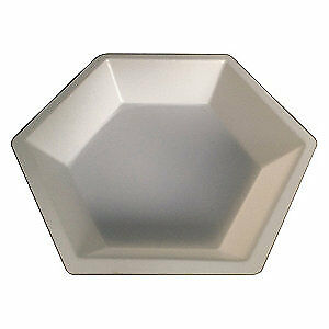 Lab Safety Supply Polystyrene Weighing Dish 350ml 1 1 4in d pk500 38xj98 White