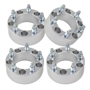 4 2 5x5 5 To 5x5 5 Wheel Spacers Adapters 12x1 25 Studs For Geo