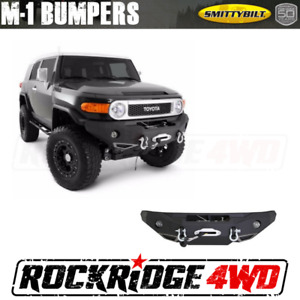 Smittybilt Front D Ring Winch Bumper Light Kit 2007 2015 Toyota Fj Cruiser