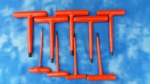 Cementex T handle Allen Hex Key Metric Wrenches 9pcs 2mm Thru 10mm New