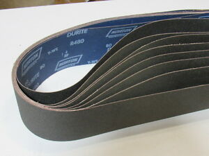 Sanding Belts Norton 19 R445 Durite 4 X 106 80 Grit Silicon Carbide