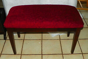 Walnut Lift Seat Piano Bench Rp Bn182