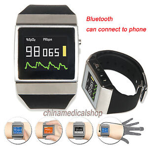 Cms50k Wearable Spo2 ecg Pedometer Monitor Pulse Oximeter 24 Hour Record Oled Us