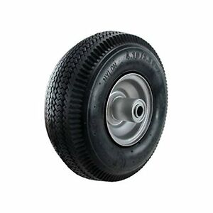 Lot Of 4 Mintcraft Rubber 4 10 3 50 4 Pneumatic Hand Truck Wheel W 5 8 Axle