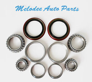 Front Wheel Bearing 2 Inner 2 Outer W seal Set For Nissan Pathfinder 89 04