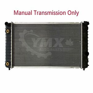 Cu1825 Radiator Fits Mt Chevy Blazer S10 Gmc Jimmy Sonoma 4 3l V6 Manual Trans