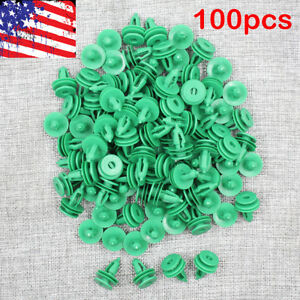 100pc Door Panel Clip Trim Fastener For Jeep Grand Cherokee 6503204 For Chrysler