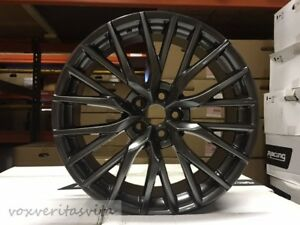 20 New 2017 Hyper Dark Rx350 Rx450h Fsport Style Wheels Rims Fits Lexus