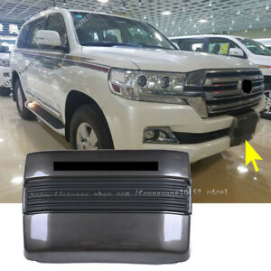 For Toyota Land Cruiser Lc200 Abs Front Bumper Winch Cover Trim 1pcs 2016 2017
