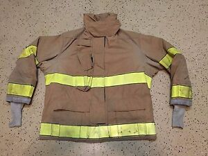 Globe Firefighter Suits Fire Turnout Coat Bunker Gear 48 32 10 2007