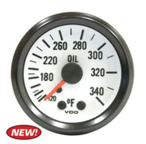 Oil Temp Gauge 120 340f Vw Dune Buggy Baja Bug Empi Vdo V180208