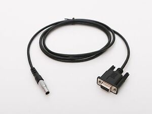 Db9 Com Data Cable For Leica Tps1200 tc2003 tca2003 tc702 tc705 Total Stations