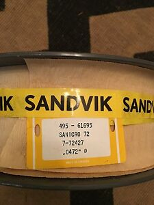 Sandvik Stainless Steel Welding Wire Sanicro 72 Nickel Chrome3 25 Pound Spool