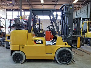 2009 Cat Caterpillar Gc60k 13500lb Cushion Forklift Lpg Lift Truck Hi Lo 97 121